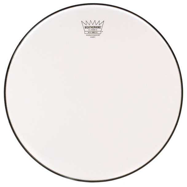 Remo CL-0114-SA 14-Inch Ambassador Hazy Classic Fit Snare Side Drum Head