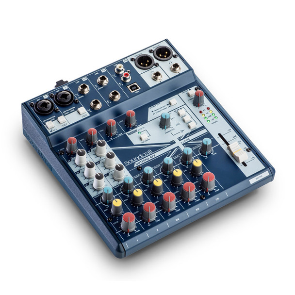 Soundcraft Notepad-8FX 8 Channel Analogue Mixer with USB and FX