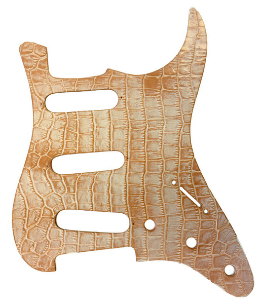Right On Straps Pickguard S-Style, Coco Beige