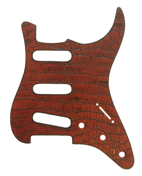 Right On Straps Pickguard S-Style, Coco Red