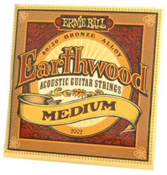 Ernie Ball Earthwood Medium Acoustic Guitar Strings 13-56