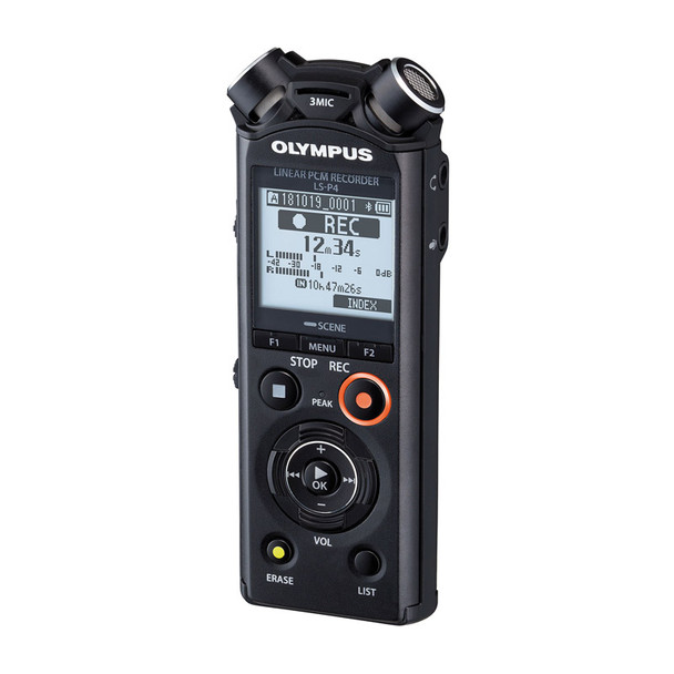 Olympus LS-P4 Linear PCM Recorder, Includes Steinberg Wavelab LE