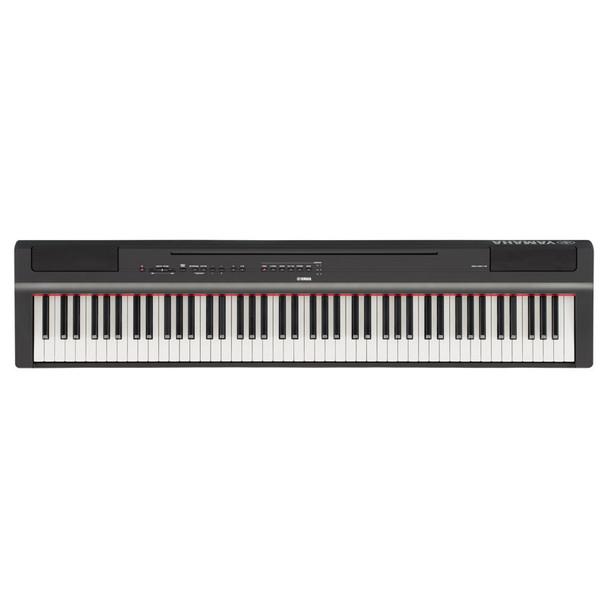 Yamaha P-125 Digital Piano, Black