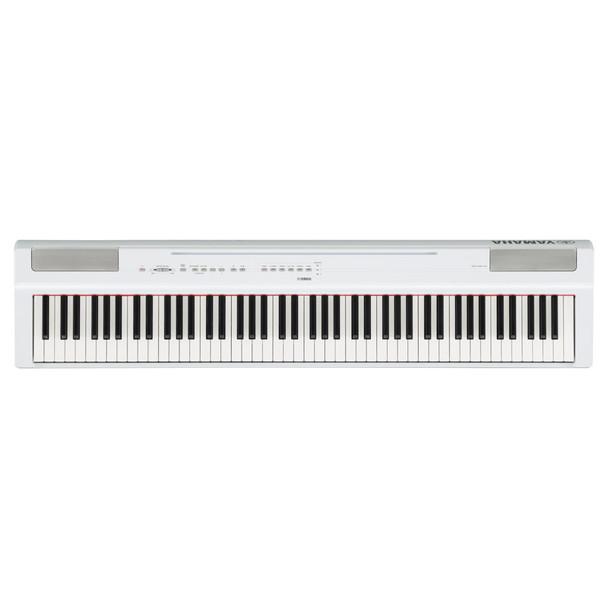Yamaha P-125 Digital Piano, White