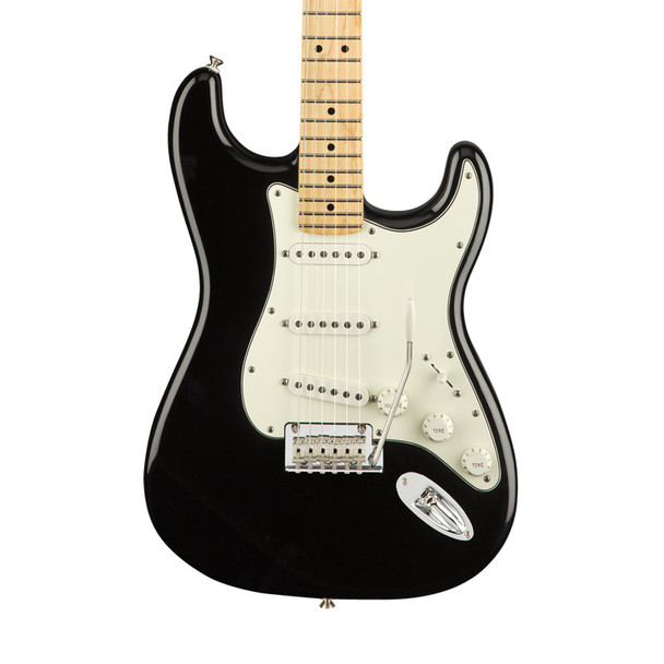 Fender Player Stratocaster Electric Guitar, Black, Maple