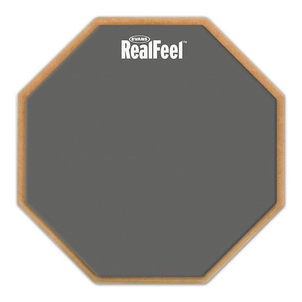 Evans RF12G 12 inch RealFeel Speed Pad Single Sided Practice Pad