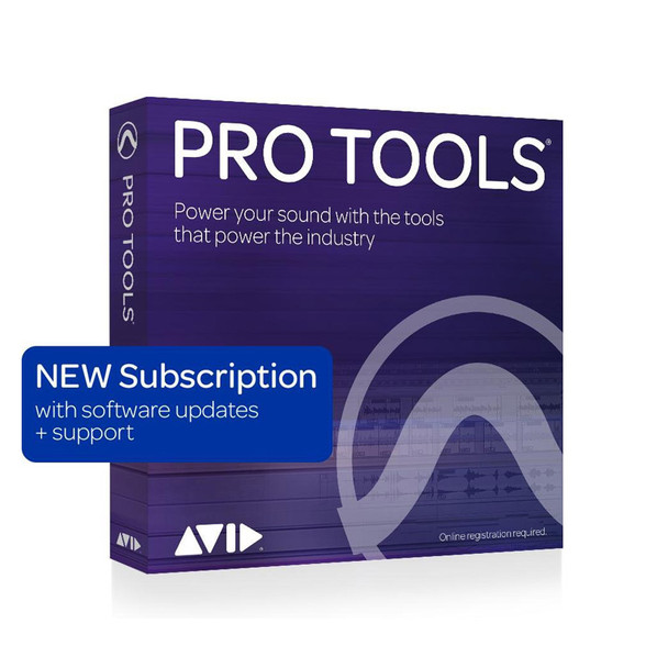 AVID Pro Tools 1-Year Subscription NEW with updates + support (Download)