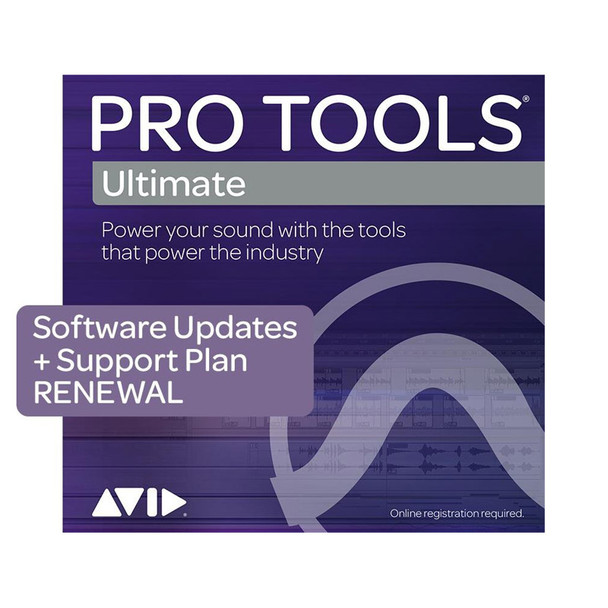 AVID Pro Tools | Ultimate 1-Year Software Updates + Support RENEWAL (Download)