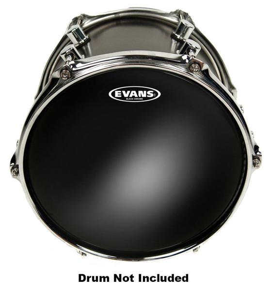 Evans TT10CHR Black Chrome 10 Inch Drum Head