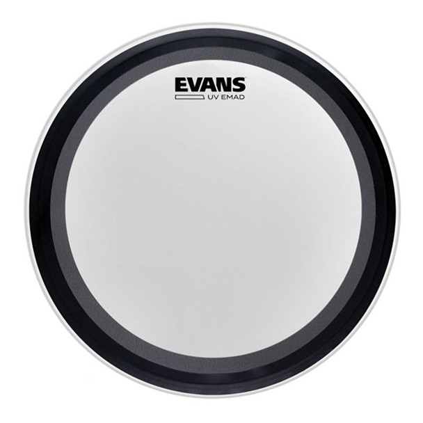 Evans BD22EMADUV 22 Inch UV EMAD Coated Bass Drum Head