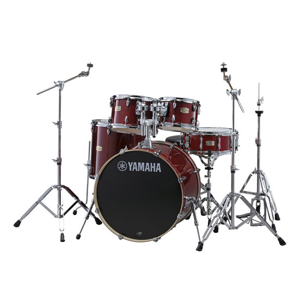 Yamaha Stage Custom Birch with 700 Series Hardware, Cranberry Red