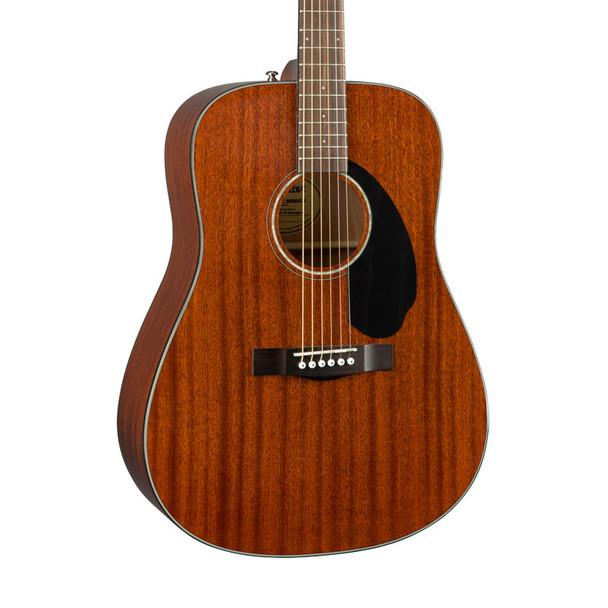 Fender CD-60S Dreadnought Acoustic Guitar, All-Mahogany