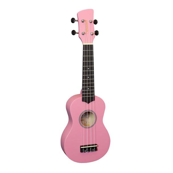 Brunswick BU2SPK Ukulele Soprano, Pink