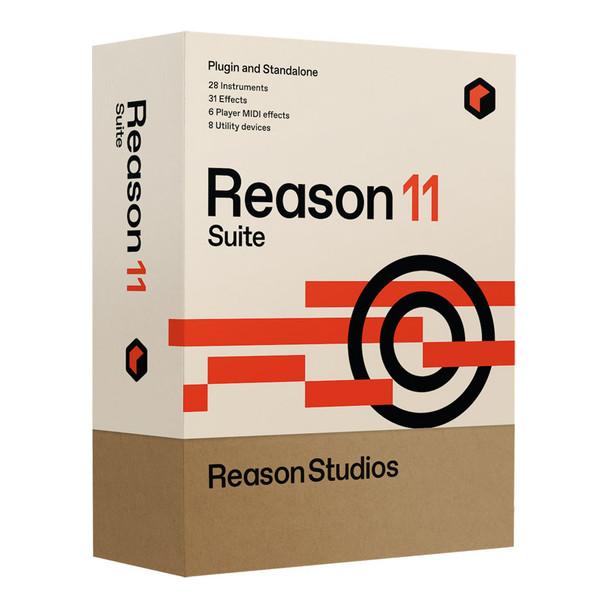 Propellerhead Reason 11 Suite Audio MIDI Recording Software