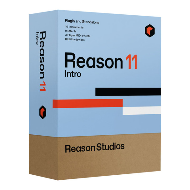 Propellerhead Reason Intro 11 Audio MIDI Recording Software