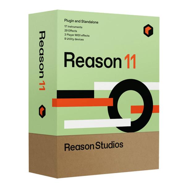Propellerhead Reason 11 Audio MIDI Recording Software Student/Teacher Version