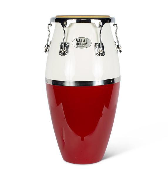 Natal NCSC03RW Classic Series Fibreglass Conga in Red & White