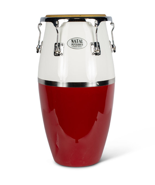 Natal NCST03RW Classic Series Fibreglass Tumba in Red & White
