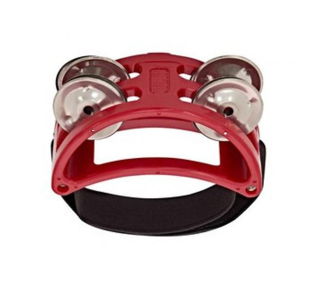 Natal NTFTR Foot Tambourine, Red