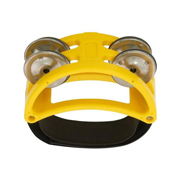 Natal NTFTY Foot Tambourine, Yellow