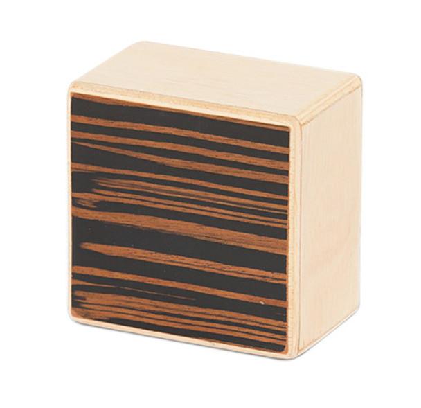 Natal WSK-SQ-E Square Wood Shaker, Ebony