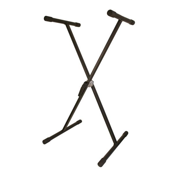 TGI Single Braced Keyboard Stand, Black