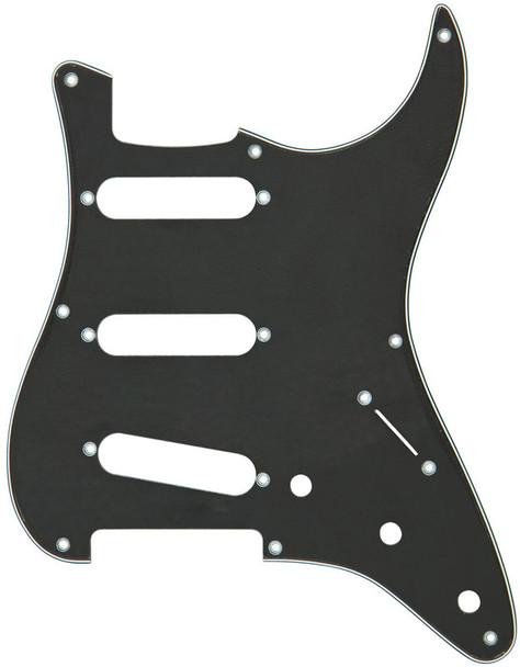 Fender Pickguard for Standard Strat (Black/White/Black)