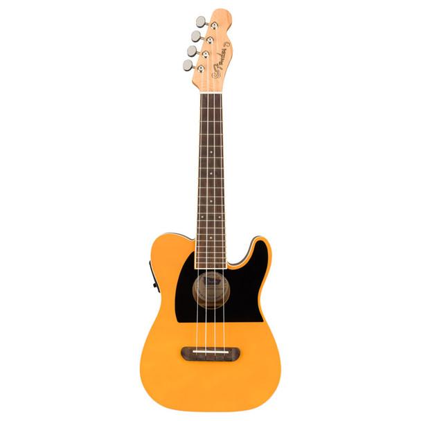 Fender Fullerton Telecaster Ukulele, Butterscotch Blonde