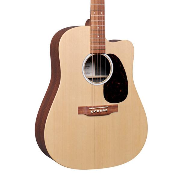 Martin DC-X2E Mahogany Dreadnought Electro-Acoustic Guitar, Natural