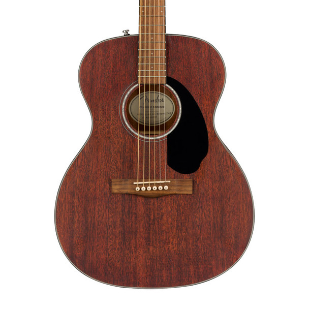 Fender CC-60s Concert All Mahogany Acoustic Guitar, Walnut Fingerboard, Natural