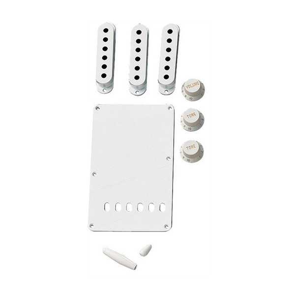 Fender Strat Accessory Kit, White