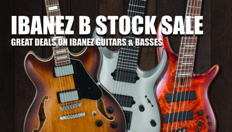 Ibanez b-stock sale