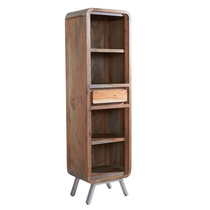 Kavali Reclaimed Narrow Bookcase