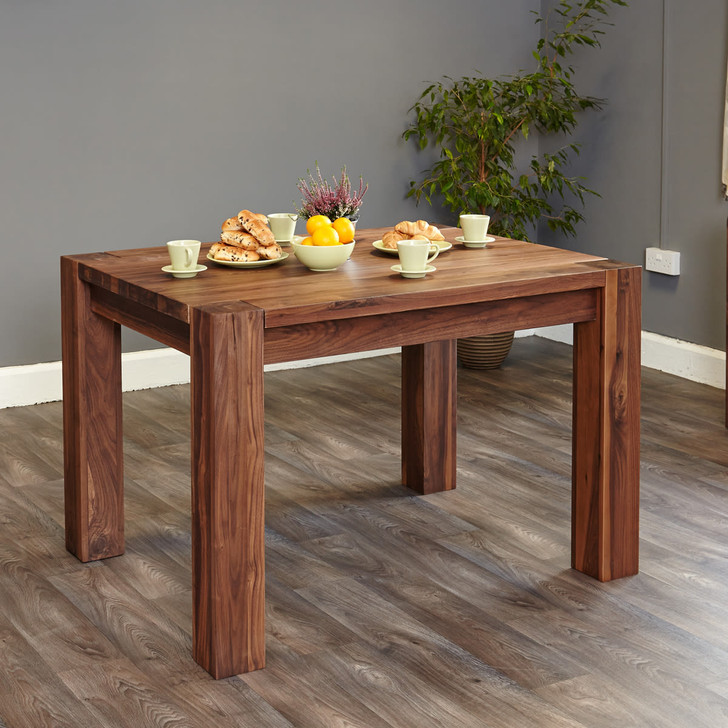 Walnut Dining Table (4 Seater) - CDR04A - 1