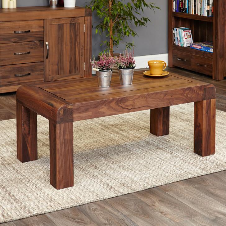 Shiro Walnut Medium Open Coffee Table - CDR08B - 1