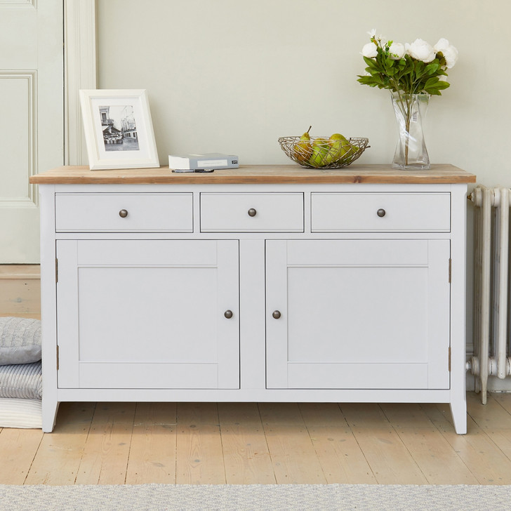 Signature Grey Large Sideboard - CFF02A - 1