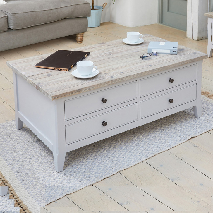 Signature Grey Large Coffee Table - CFF08A - 1