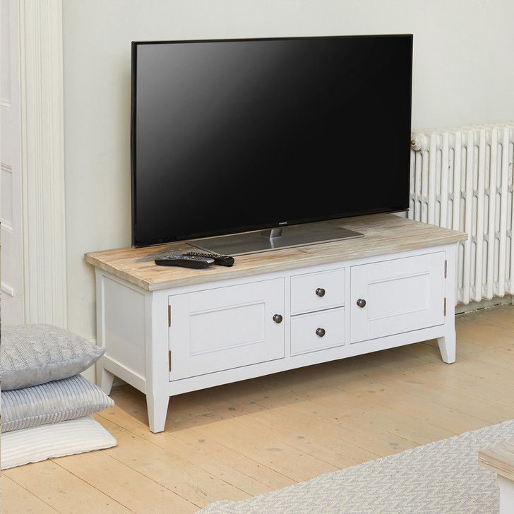 Signature Grey Widescreen Television Stand - CFF09A - 1