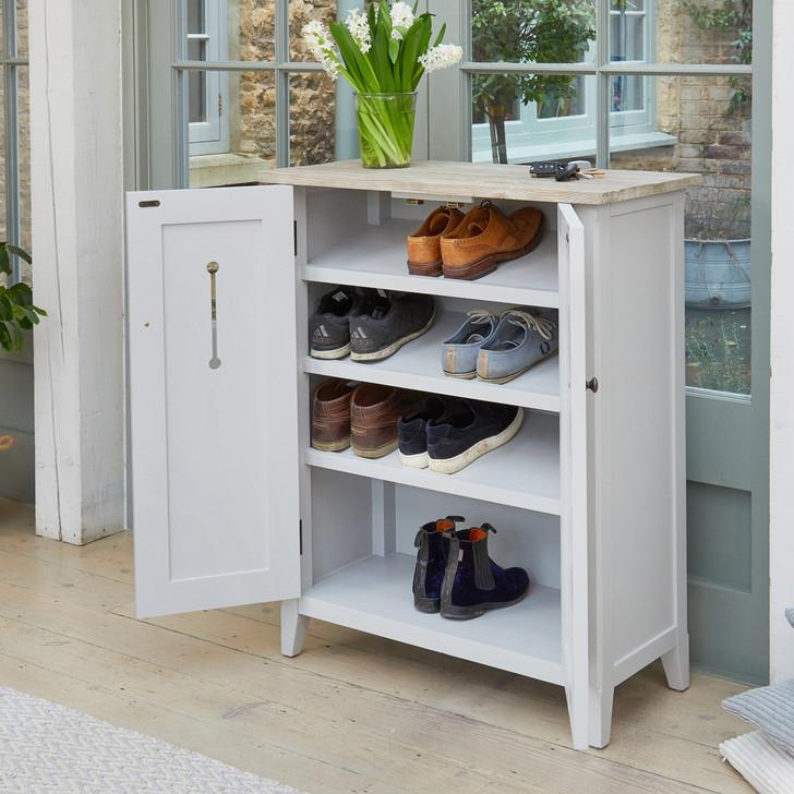 Signature Grey Shoe Storage Cupboard - CFF20A - 1