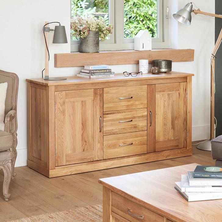 Mobel Oak Large Sideboard - COR02A - 1