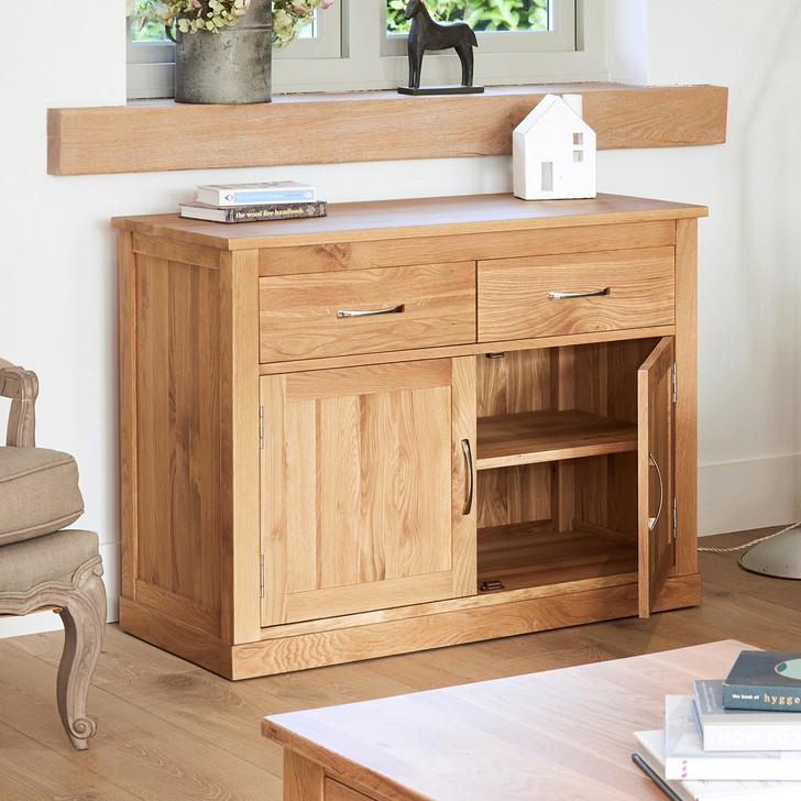 Mobel Oak Small Sideboard - COR02D - 1