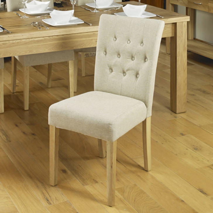 Two cream chairs - COR03D - 1