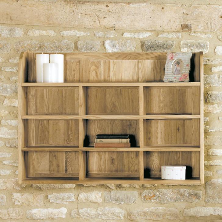 Mobel Oak Reversible Wall Rack - COR07B - 1