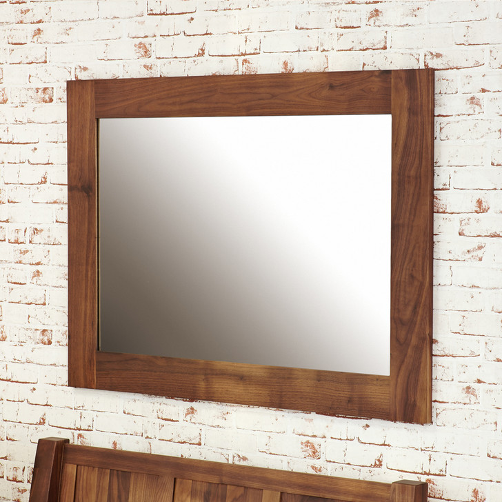 Mayan Walnut Mirror - CWC16A - 1