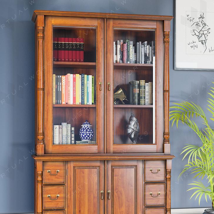 Broomfield Mahogany Dresser Top - 1
