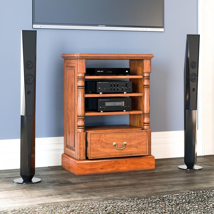 Broomfield Mahogany Home Entertainment Cabinet - 1