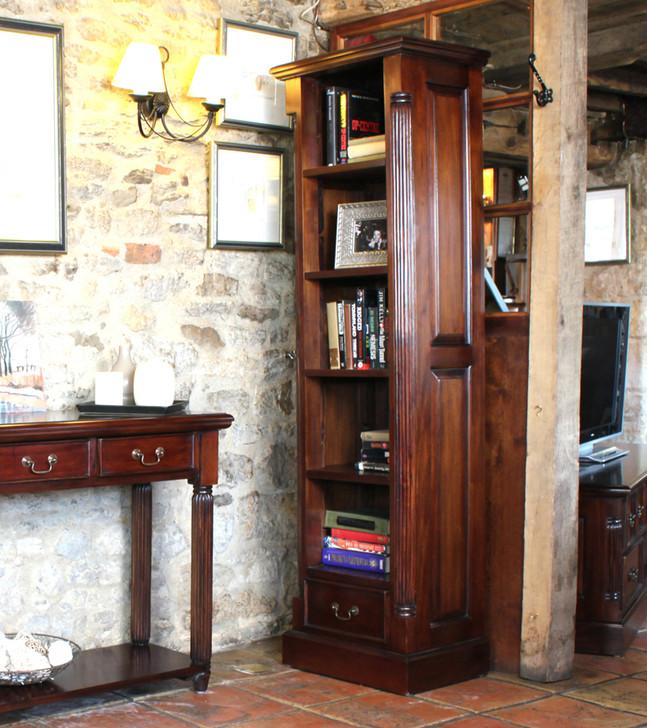 La Roque Narrow Alcove Bookcase - IMR01C - 1