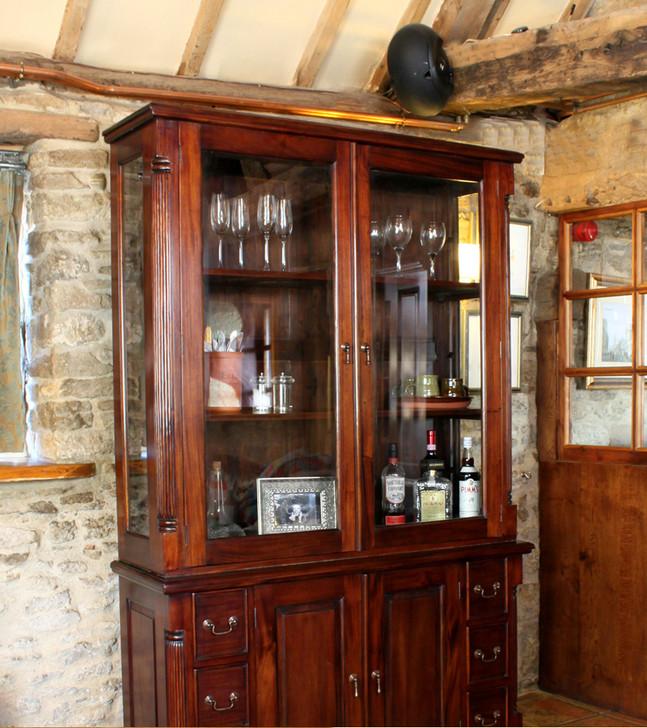 La Roque Mahogany Dresser Top (Hutch) - IMR02B - 1