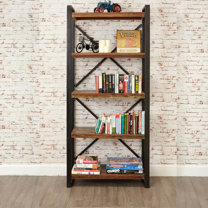 Urban Chic Large Open Bookcase - IRF01B - 1