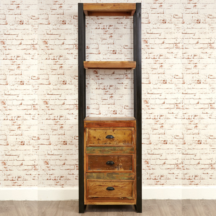 Urban Chic Alcove Bookcase (with drawers) - IRF01D - 1